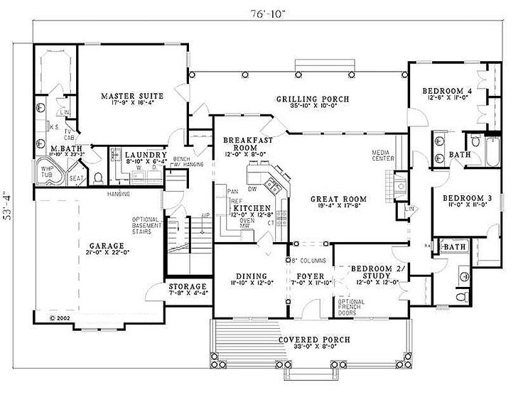 33 best golf course house plans images on pinterest Golf course house plans