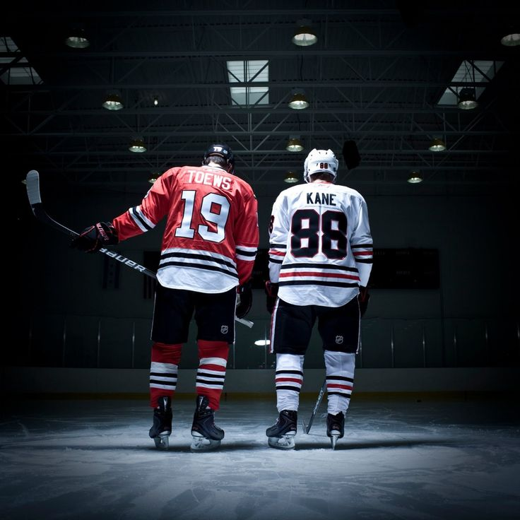 It's the Blackhawks!  Of course I am going to pin it!