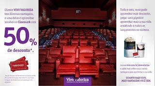 Promoção Vivo Valoriza e Cinemark