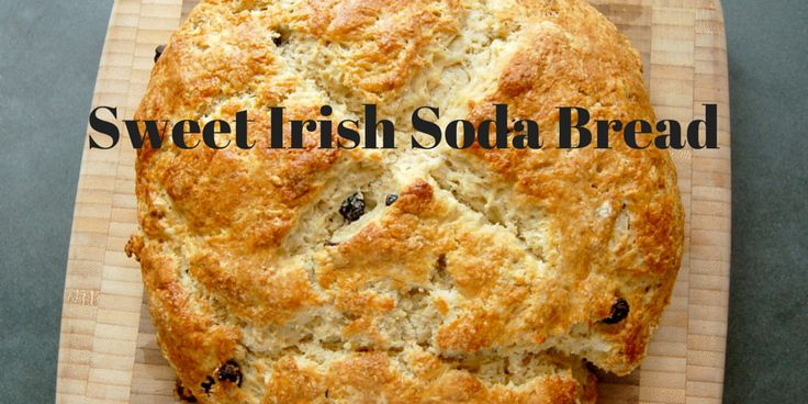 Sweet Irish Soda Bread With Caraway Seeds & Raisins (a.k.a. Spotted Dick) - a quick, easy batter bread that's a St. Patrick's Day favorite.