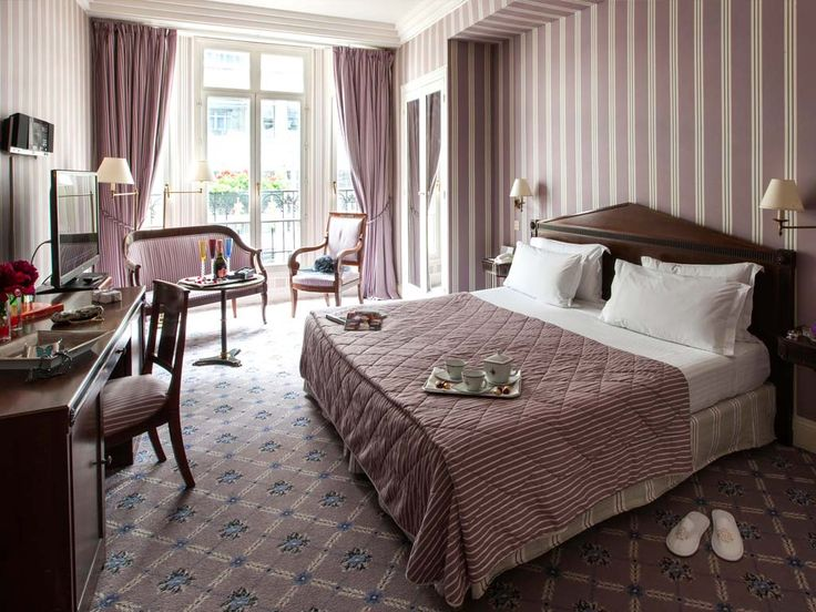 Hôtel Astor Saint Honoré **** #Paris (Maranatha Hôtels) / Proche #ChampsElysees Chambre De Luxe / Deluxe Room