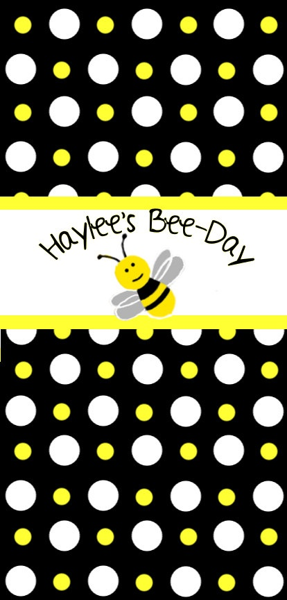 Bumble Bee Mini Candy Bar Wrappers By 5280PaperCrafts On Etsy 350 For 15