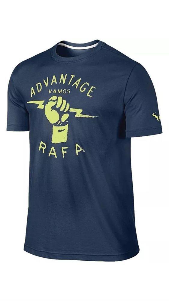 Nike Nadal Vamos Rafa Tennis Top T-Shirt - Size L