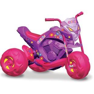 Moto Elétrica Infantil Bandeirante Trail - EL 6V Gatinha, diversão para seu filho.    A moto no tamanho que faltava!