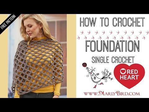 How to Foundation Single Crochet - YouTube