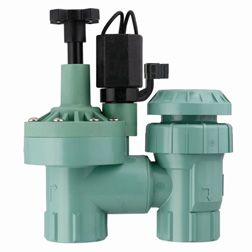Plastic Anti Siphon Sprinkler Control Valve Is The Most Common Variety Used  For Residential Watering