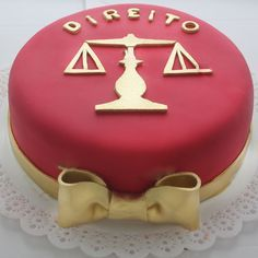 Torta Artística Formatura Direito
