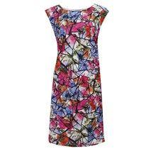 Zapara Multi Print Sleeveless Dress