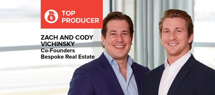 Zach and Cody Vichinsky: 'Real estate just seemed to happen naturally for us' Brothers and teammates talk about offering higher levels of service