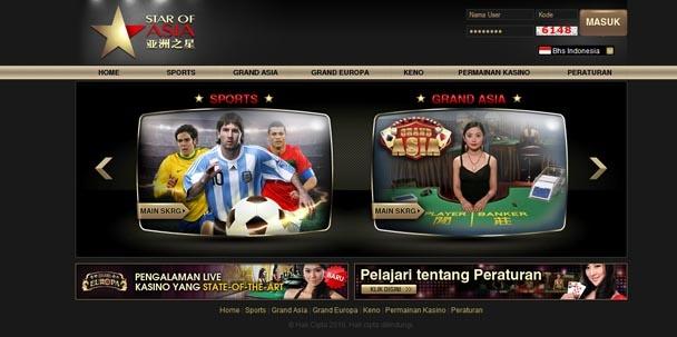 Produk Judi Casino SOA888 merupakan salah satu website penyedia judi kasino terbesar di Asia, beroperasi secara legal yang dilisensikan oleh Cagayan Leisure & Resort Corporation di Filipina.