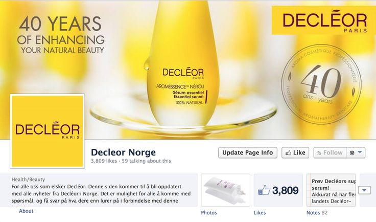 https://www.facebook.com/DecleorNorge
