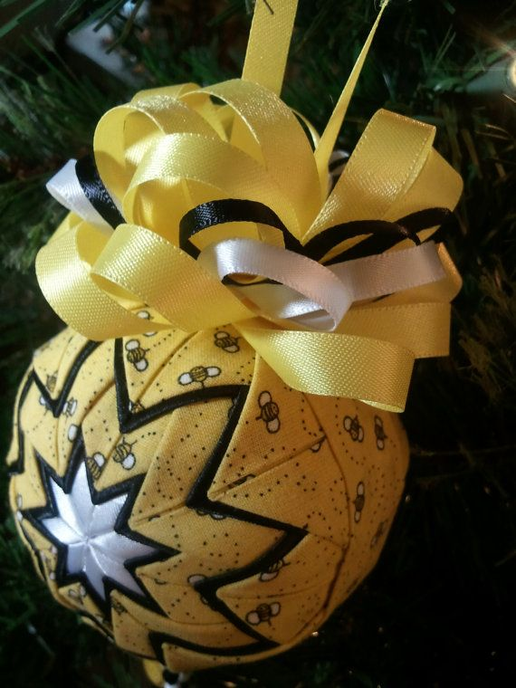 Busy Bees Quilted Ornament By AliAndaCreations On Etsy 1850