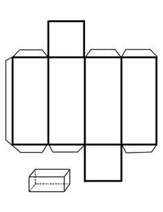 Prismas, pirámides y otras figuras geométricas para armar