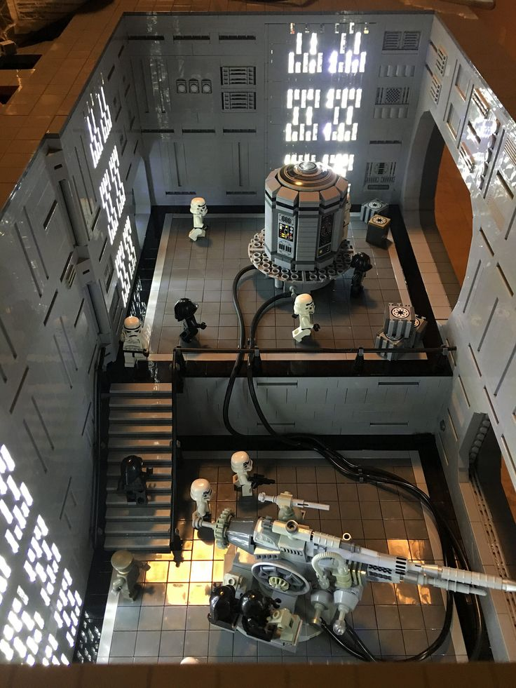 Death Star Continues | Just finished my gunner room in my De… | Flickr