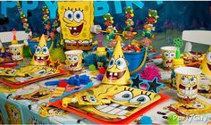 SpongeBob Party!!