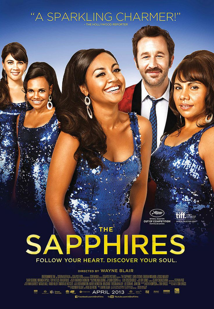 The Sapphires in an imperfect, but perfectly entertaining little movie based on a true story of an Aboriginal female soul group that entertained the troupes during the Vietnam war. An unlikely story that probably wouldn't have been written if it wasn't true, the movie features great music and exuberant performances. 92% fresh on Rotten Tomatoes. Available at Redbox and Netflix streaming. Check it out!
