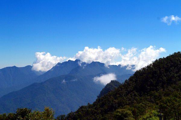 Bach Ma National Park in Vietnam's North Central Coast region, near Hue and Da Nang.