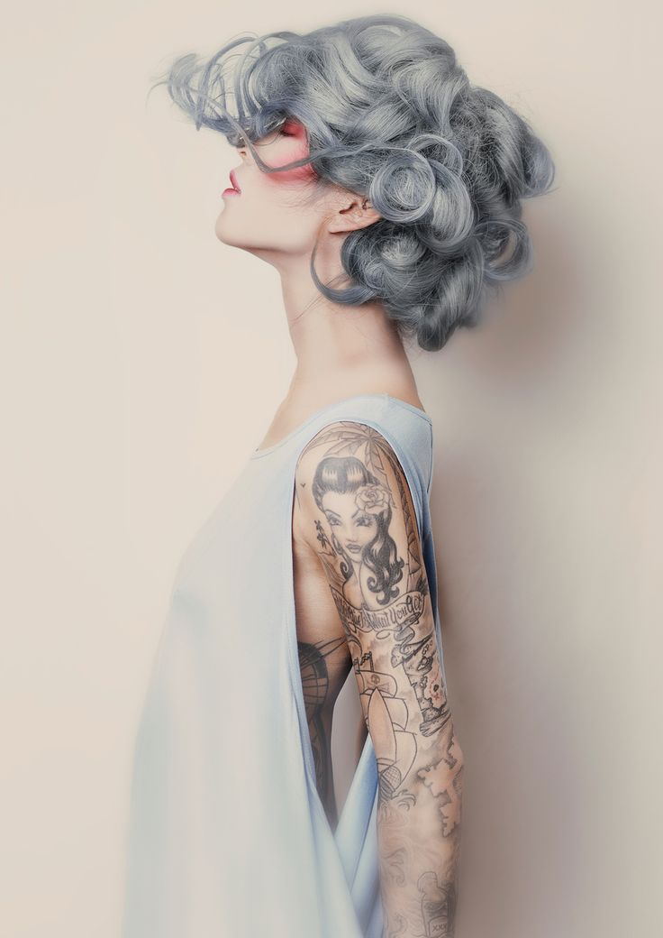 Cool grey hair color