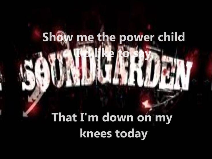 Soundgarden-Outshined(lyrics)