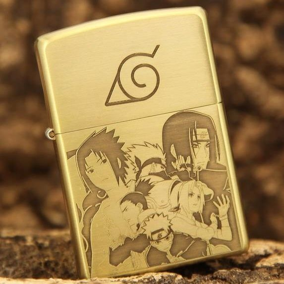 Etching Brass NARUTO Limited Edition Zippo Lighter
