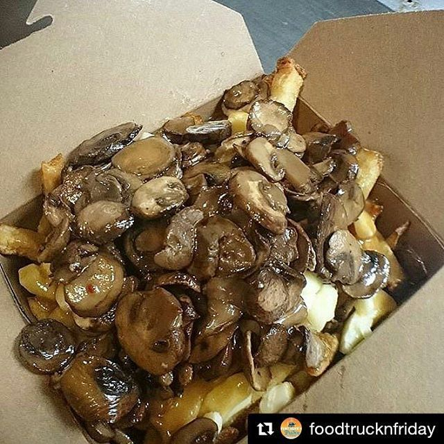 #Repost @foodtrucknfriday ・・・ We must be on shrooms cuz nothing could possibly look this good! Check it out #poutine lovers - @wickedlysinful is back at #FoodTruckNFriday this #Friday with a truckful of poutine just waiting to be gobbled up! You interested? Be first in line - see you on Friday! #food #foodie #foodstagram #instafood #foodgasm #foodporn #fries #frenchfries #gravy #yum #igchefs #igfood #shrooms #sogood #delish #foodpic #foodlover #omg #drool #delish #nomnom #eeeeeats #etobicoke…