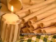 Vanilkové oblátky a trubičky - ako vyrobiť vianočné vanilkové oblátky a trubičky