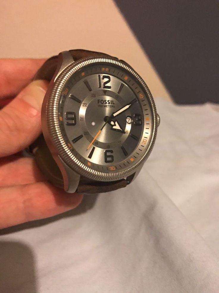 fossil watch men used  | eBay