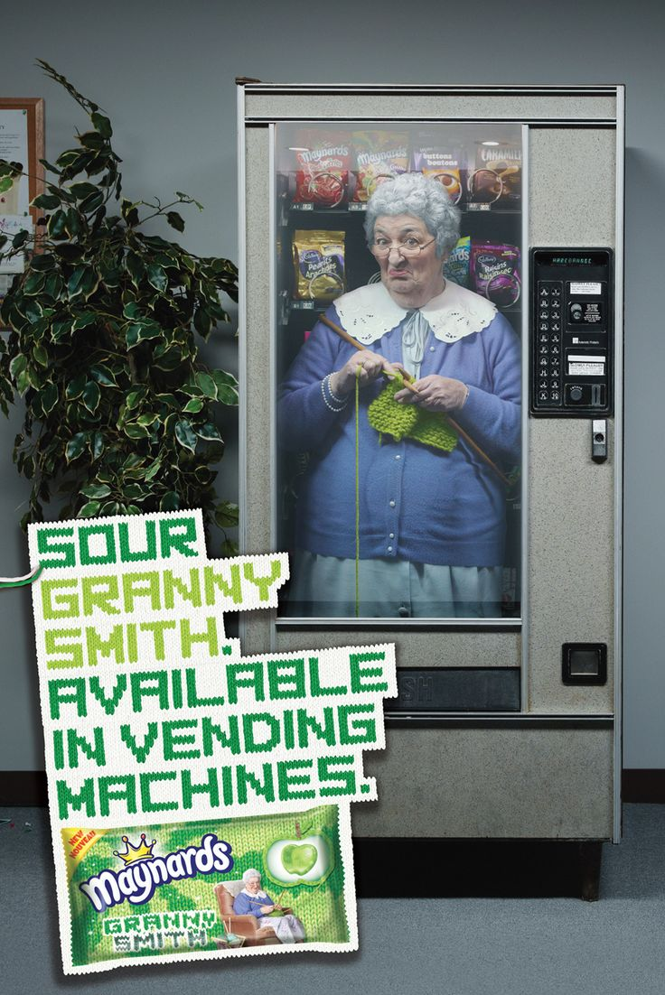 #advertising - Granny Smith: Campaña Maynard, Granny Smith, Advert Design, Funny Commercial, Funny Ads, Ads Funny, Maynard Granny, Creative Ads, Creative Job