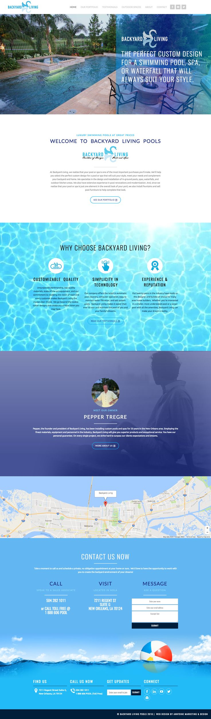 Web Design | Website Design | Responsive Website | Responsive Website Design | Fitness Website | Fitness Design | Custom Website Design | Custom Website | Healthy School Food Collaborative Website | Branded Website Design | Website Inspiration | Website Ideas | Web Design Ideas | Parallax Scrolling | Outdoor Pools | Swimming Pools | http://backyardlivingpools.com/index.html?gclid=CP22iPKD2dMCFQiUaQodTzwCrw