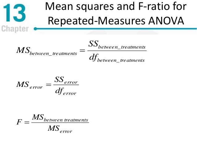 Image result for f ratio anova Statisitcs Formulas Pinterest - sample variance