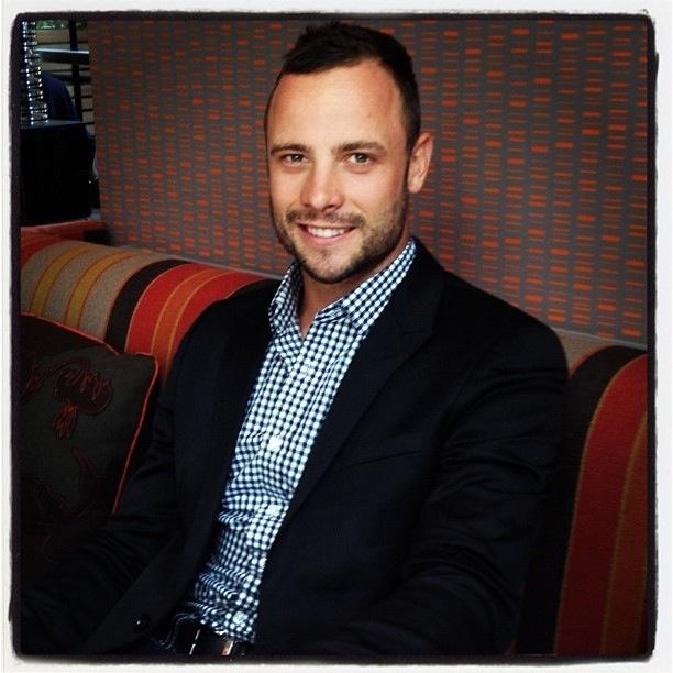 Oscar Pistorius looking UH-MAH-ZING!!