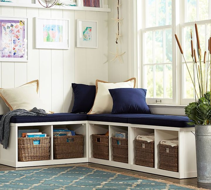 Bench Seating In Front Of Kitchen Windows Use Different: Build Your Own - Ryland Modular Banquette