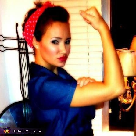 rosie the riveter costume - Rosie The Riveter Halloween Costume
