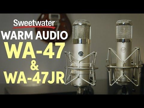 New video Warm Audio WA-47 & WA-47Jr Condenser Microphones Review on @YouTube