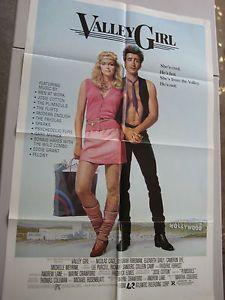 VALLEY-GIRL-Original-1983-Movie-Poster-Nicolas-Cage-Deborah-Foreman-80-039-s