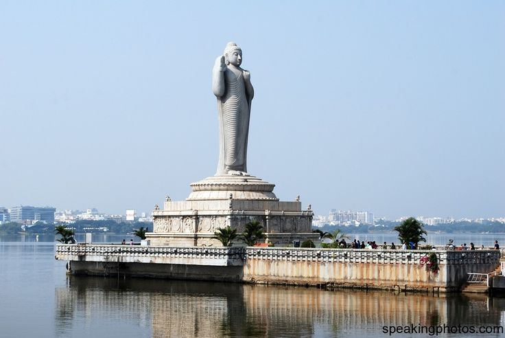 Hussain Sagar is a lake in Hyderabad, Andhra Pradesh, India, built by Hazrat Hussain Shah Wali in 1562.A large monolithic statue of the Gaut...
