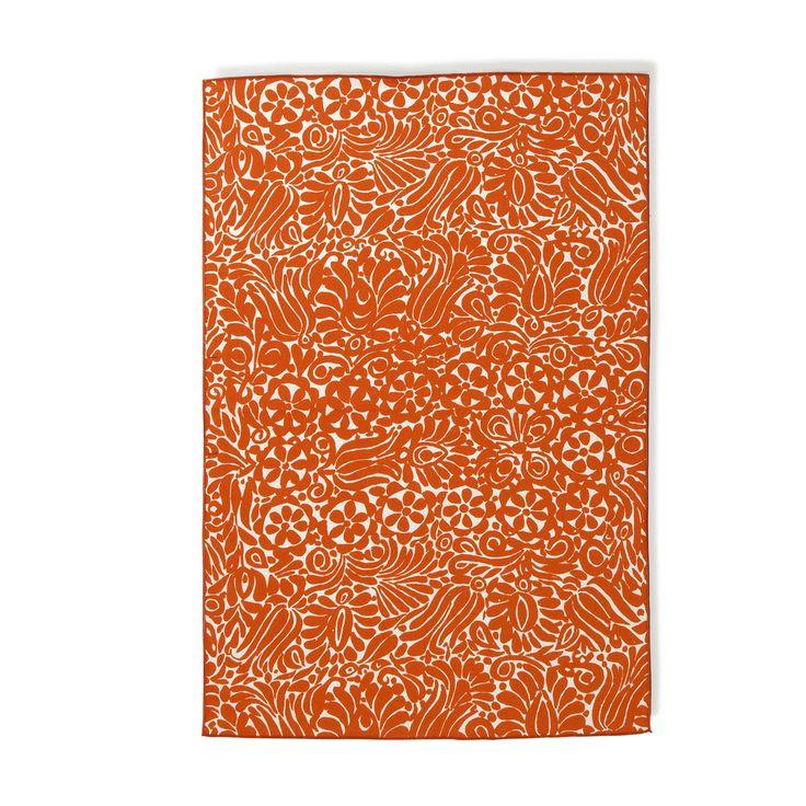 Marimekko Tamara Orange Tea Towel