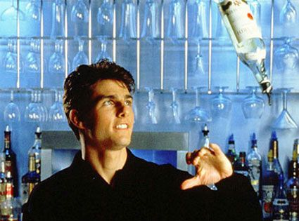 """Tom Cruise in """"Cocktail"""" (1988)"""