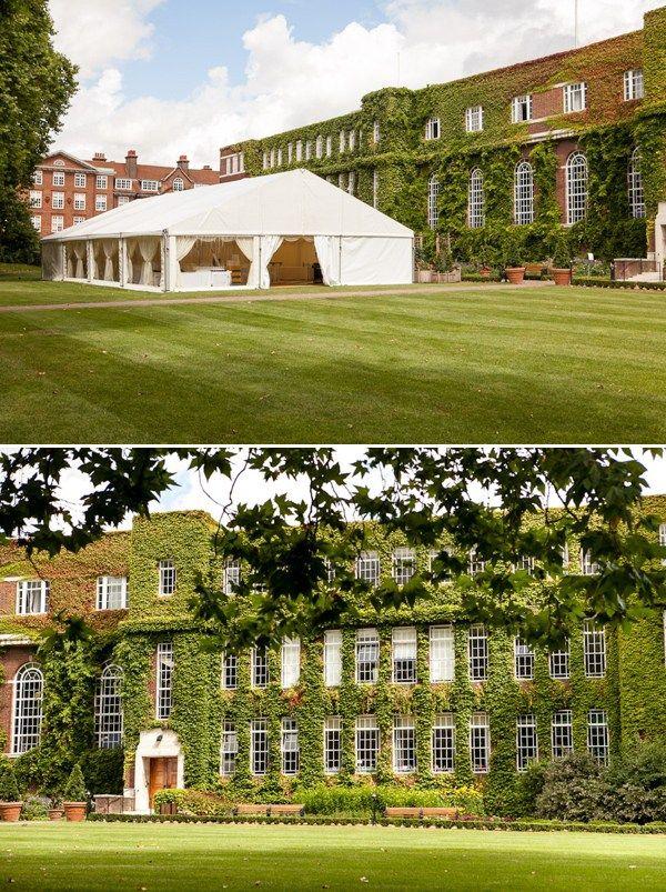 Regent's University London ~ A beautiful Georgian wedding venue in Regent's Park, London