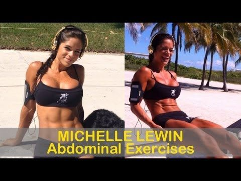 MICHELLE LEWIN - Fitness and Bikini Model: Abdominal Exercises & Abdominal Workouts @ Venezuela - YouTube