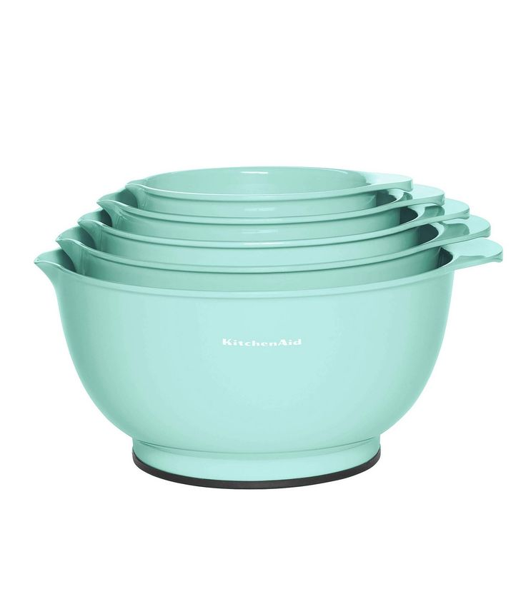 Kitchenaid ice blue 5piece mixing bowl set dillards in