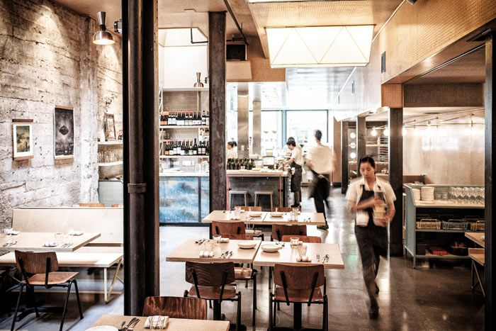 The progress san francisco restaurant interior for American cuisine in san francisco