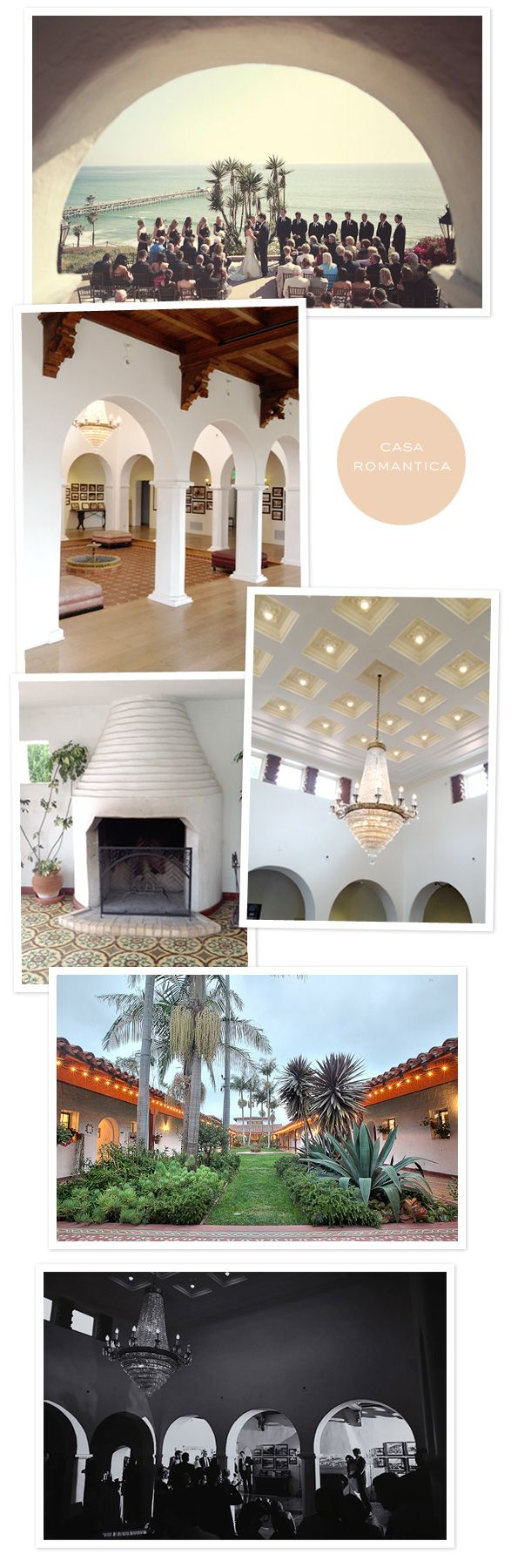 casa romantica Where I wanted to get married, but it was under construction..and I wouldve copied gaby! -repinned from SoCal celebrant https://OfficiantGuy.com #weddingsorangecounty