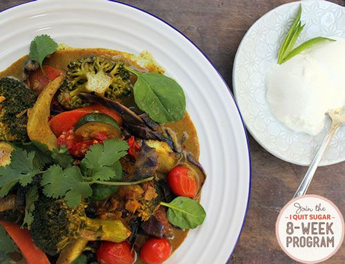 IQS 8-Week Program - Vegetable Curry