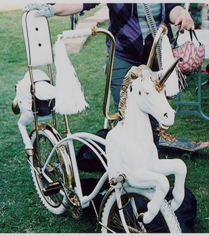 Unicorn bike!? #WANT? <3 www.perpetualkid.com