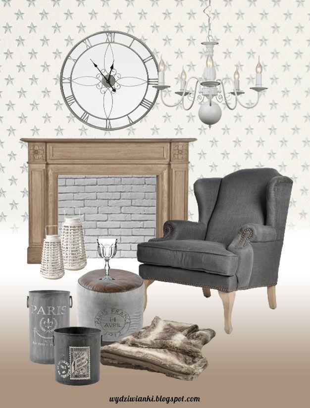 Inspiracje dla pięknego domu: kolaż konkursowy z produktami ze sklepu Decolo.pl; autor: wydziwianki.blogspot.com