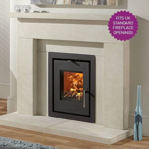 Morsø's new multifuel insert wood burning stove that has been specifically designed with a UK standard fireplace opening in mind, making it an ideal choice when replacing an out dated gas fire or open grate.    Visit our website to see more - http://morso.co.uk/product/morso-s81-90/