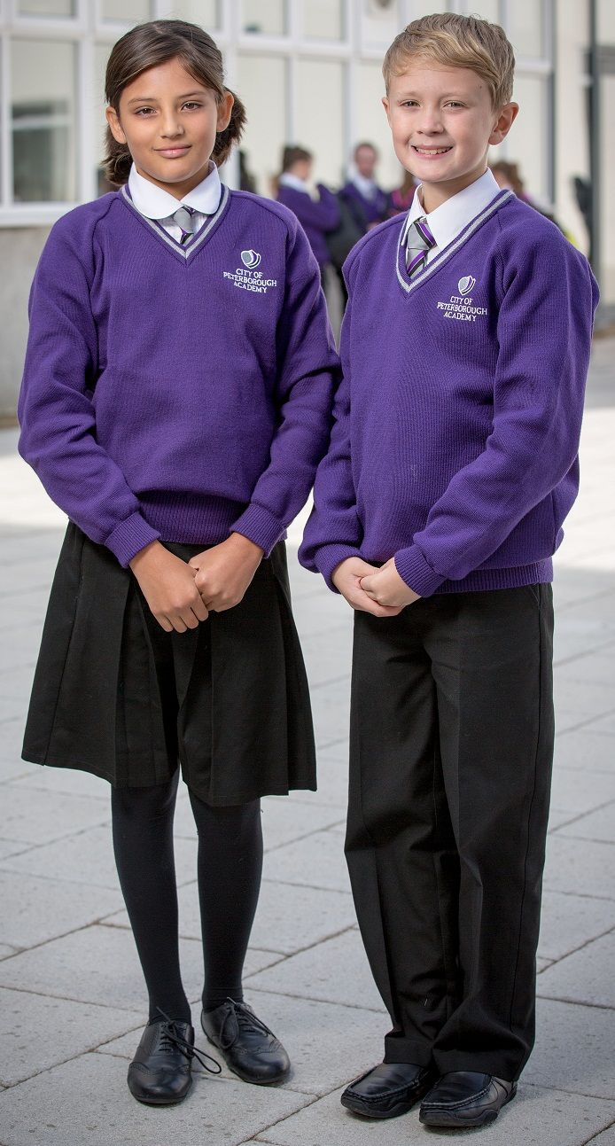 The Academy has strict guidelines on dress and all pupils will be expected to wear the full Academy uniform.Uniform two The wearing of our distinctive uniform gives pupils a sense of 'belonging', helps foster a pride in the Academy and stops pupils coming to the Academy in unsuitable clothes.