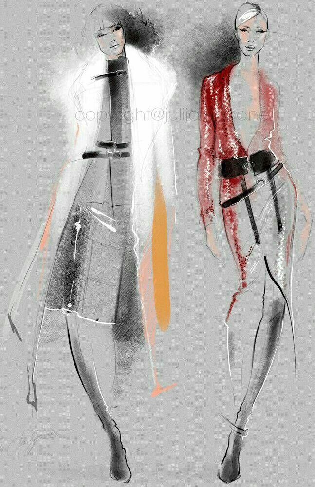 Fashion illustration   ♦F&I♦                                                                                                                                                                                 More