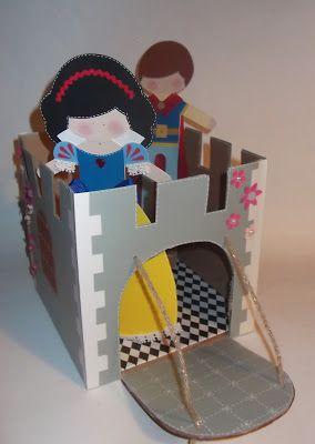 cartoncino mio: Un castello di cartone